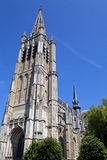 St. Martin's Cathedral in Ypres, Belgium Stock Photos