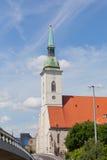 St. Martin's Catholic temple Royalty Free Stock Image