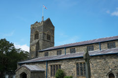 St Martin`s Church, Bowness-on-Windermere Royalty Free Stock Photo