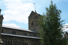 St Martin`s Church, Bowness-on-Windermere Royalty Free Stock Images