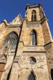 St Martin's Church in Colmar. Colmar, Grand Est, France stock image