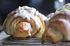 St Martin ` s croissants Zdjęcie Royalty Free