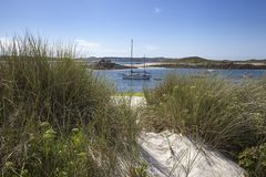 St Martin's Flats, Isles of Scilly, England Royalty Free Stock Images
