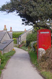 St martin's phone box Royalty Free Stock Image
