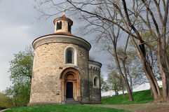 St. Martin's Rotunda at Vysehrad, Prague. royalty free stock photos