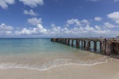 St Martin strand Royaltyfria Bilder