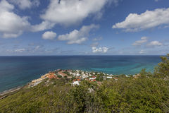 St Martin strand Royaltyfria Foton