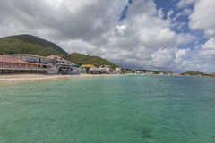 St Martin strand Arkivbilder