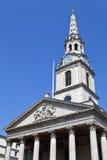 St Martin w Polach Kościelnych w Londyn Fotografia Stock