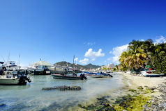 St Martin wyspa Fotografia Royalty Free
