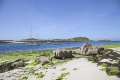 St Martin's Flats, Isles of Scilly, England Royalty Free Stock Photos