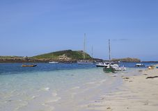 St Martin's Flats, Isles of Scilly, England Royalty Free Stock Photography