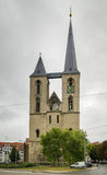 St Martini church, Halberstadt, Germany. St Martini Church was built in the early middle ages and built for the first time mentioned in 1186,Halberstadt, Germany royalty free stock photos