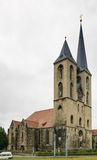 St Martini church, Halberstadt, Germany. St Martini Church was built in the early middle ages and built for the first time mentioned in 1186,Halberstadt, Germany Royalty Free Stock Photography