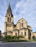 St- Martinkirche im Brive-La-Gaillarde, Frankreich lizenzfreies stockfoto