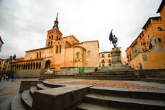 St- Martinkirche, Segovia Stockfotos