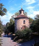 St Martins Chapel, Vyserhrad. Stock Photo