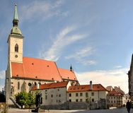 St. Martins Church in Bratislava Royalty Free Stock Image