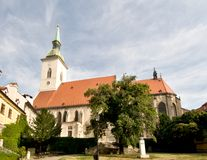St. Martins Church in Bratislava Stock Images