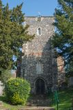 St Martins Church Canterbury royaltyfri bild