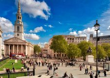 Saint Martins in The Fields, London Stock Images