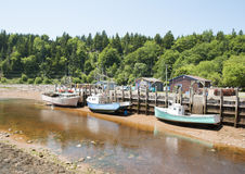 St. Martins Village Tides Royalty Free Stock Photography