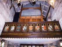 St Mary's下面的Alderley的彻斯特教区教堂 库存照片