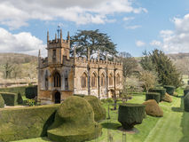 St. Mary's Church or Sudeley Castle Church near Winchcombe Cotswolds Royalty Free Stock Image