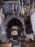St Mary's Parish Church in Nether Alderley Cheshire. Royalty Free Stock Image