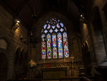 St Mary's Parish Church in Nether Alderley Cheshire. Stock Images