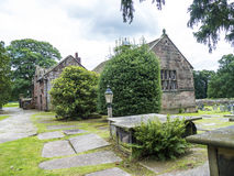 St Mary's Parish Church and  Schoolhouse in Nether Alderley Cheshire. Royalty Free Stock Photography