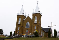 St. Mary's Parish in Wilno, Ontario. St.Mary`s Church Our Lady of Czestochowa Royalty Free Stock Photo