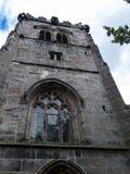 St Mary's Parochiekerk en Schoolgebouw in Onder- Alderley Cheshire Stock Afbeelding