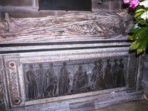 St Mary's Parochiekerk in Onder- Alderley Cheshire Stock Foto