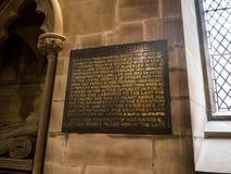 St Mary's Parochiekerk in Onder- Alderley Cheshire Stock Fotografie