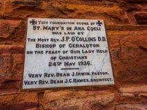 ST Mary στη Ρωμαιοκαθολική εκκλησία Ara Coeli, Νόρθαμπτον στοκ εικόνες