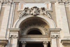 ST Mary της βασιλικής αγγέλων σε Assisi Στοκ Φωτογραφίες