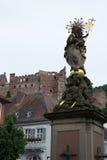 St Mary в Гейдельберге стоковое фото