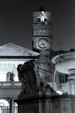 St Mary в Trastevere в Риме Стоковое фото RF