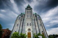 St Mary и православная церков церковь Майкл Архангела коптская в Nashua, Стоковые Фото