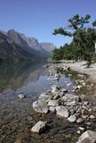 st mary озера стоковое фото rf