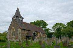 St Mary церковь девственницы Buckland, Суррей r стоковое изображение rf