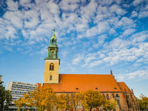 st mary церков berlin Стоковое Фото