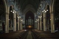 St Mary Abbots Church, församlingkyrkan av Kensington, London Fotografering för Bildbyråer