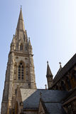 St Mary Abbots Church in Kensington, London Royalty Free Stock Photography