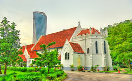 St Mary Anglican Cathedral in Kuala Lumpur, Malesia immagine stock