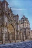 St Mary av den Toledo domkyrkan, España royaltyfri bild