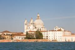 St Mary av hälsokyrkan, Venedig Royaltyfri Bild