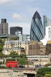 St.Mary Axe  (The Gherkin) Royalty Free Stock Photos