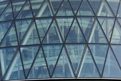 30 St Mary Axe, The Gherkin, Swiss Re Building in London, England, Europe Stock Photo